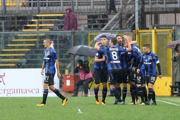 Atalanta-Sassuolo 1-1, Cornelius (LaPresse)