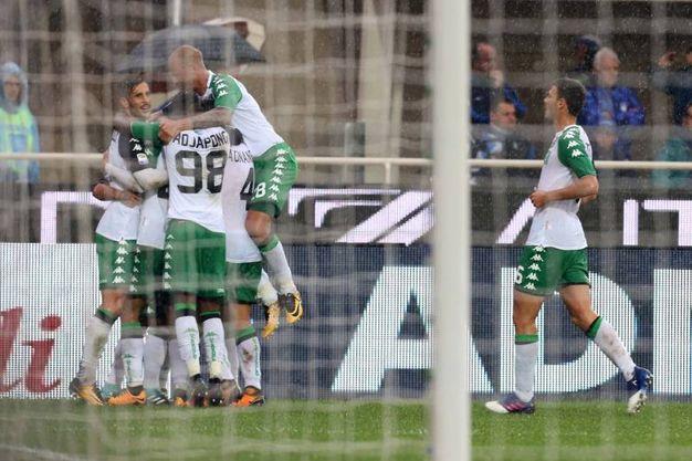 Atalanta-Sassuolo 0-1, Sensi (LaPresse)