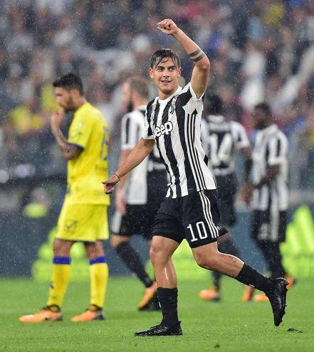 Juventus-Chievo 3-0, Dybala (Ansa)