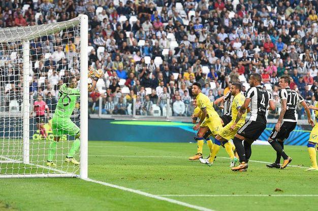 Juventus-Chievo 1-0, autorete Hetemaj (LaPresse)