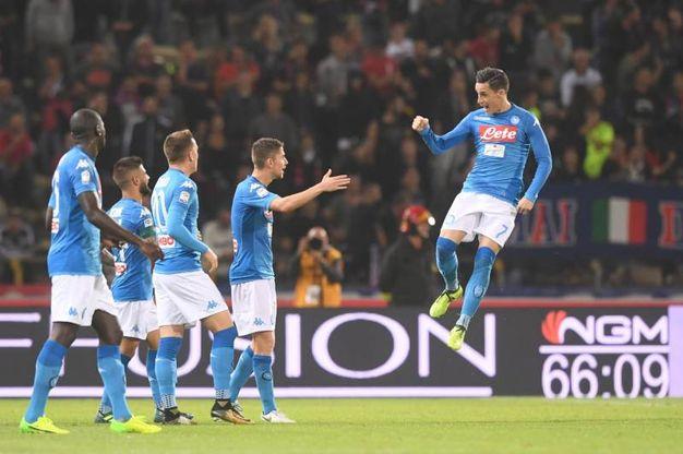 Bologna-Napoli 0-3 Callejon - Lapresse