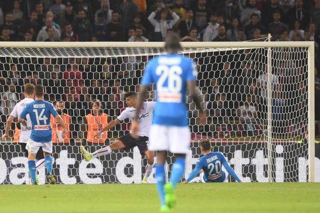 Bologna-Napoli 0-3, Zielinski - Lapresse