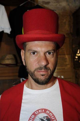 Matteo Blasi detto Gedeone vice presidente del Club dei Brutti (foto omaggio)