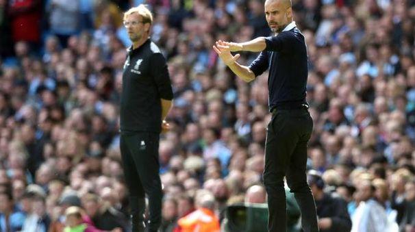 Pep Guardiola, allenatore del Manchester City
