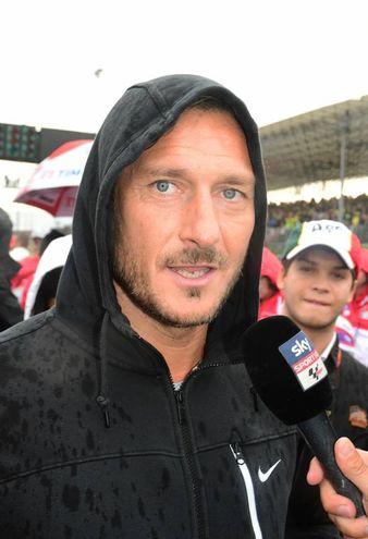 Francesco Totti (foto Petrangeli)