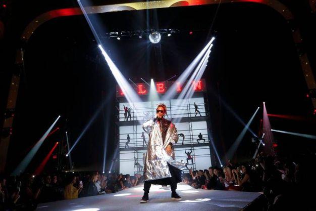 Il cantante Future (Afp)