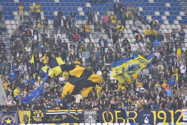 Il pubblico del Modena (foto Artioli)
