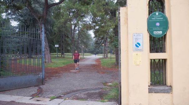 L'entrata del parco (foto Schicchi)