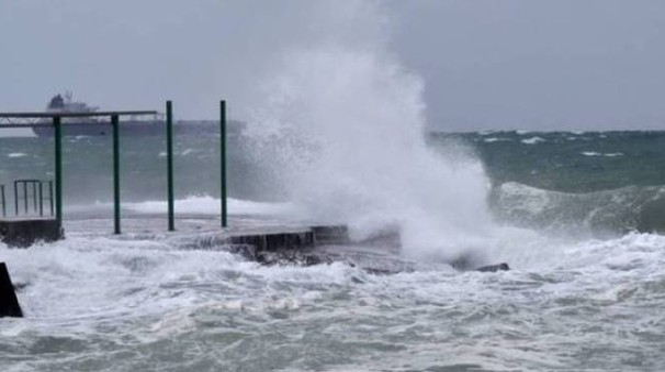Allerta meteo per vento e mare agitato