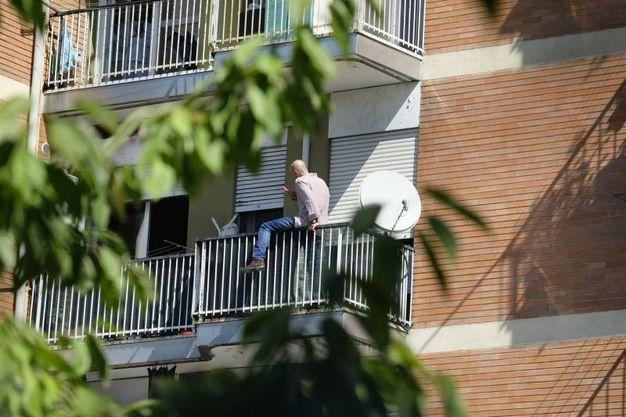 L'uomo sul balcone (Lapresse)