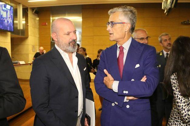 Stefano Bonaccini e Giuseppe Amato (fotoschicchi)