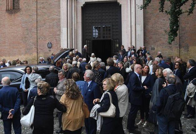 Il funerale del giornalista Fabio Raffaelli (foto Schicchi)