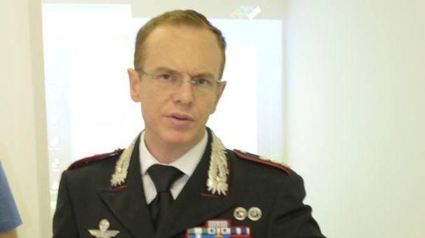 Il tenente colonnello Vittorio Carrara comanda i carabinieri lodigiani dall'ottobre del 2016 (Cavalleri)
