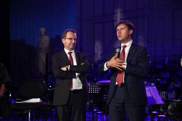 Umberto Tombari e Dario Nardella (Foto Umberto Visintin / NewPressPhoto)