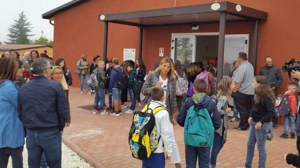 La scuola di Norcia all'inizio del nuovo anno scolastico