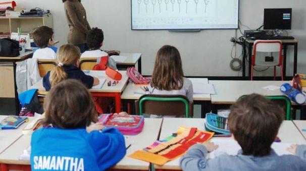 Studenti il primo giorno di scuola