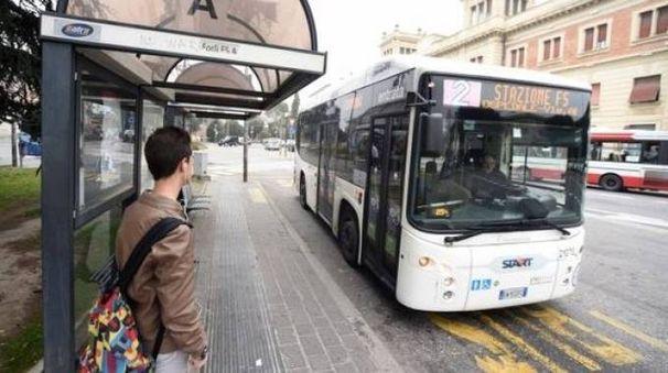 Il Punto bus della stazione di Forlì (foto Fantini)