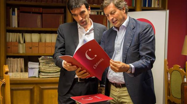 Il Ministro Maurizio Martino e il presidente Giovanni Busi