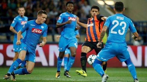 Shakhtar Donetsk-Napoli (Lapresse)