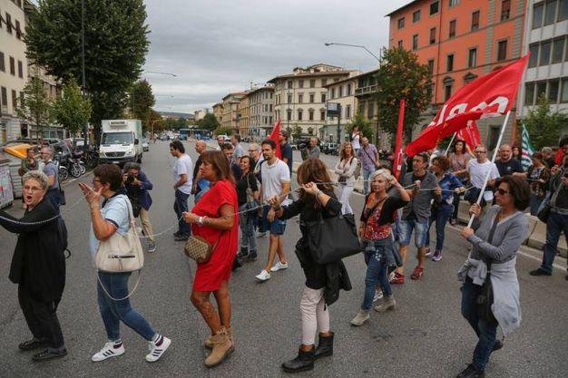 Richard Ginori, sciopero e  presidio (Germogli)