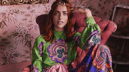 Miriam Leone per 'Roman Rhapsody' di Gucci
