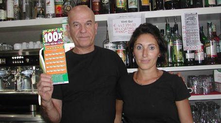 Silvio Lai, gestore del bar Togo's di Altopascio dove è stata centrata la maxi vincita