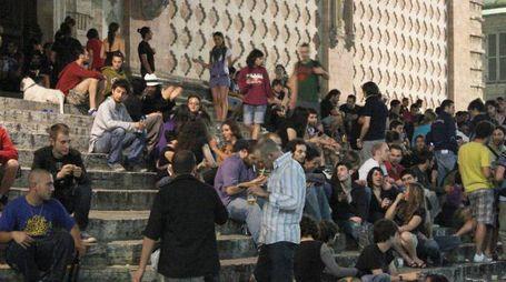 La movida nel centro di Perugia (foto di repertorio)
