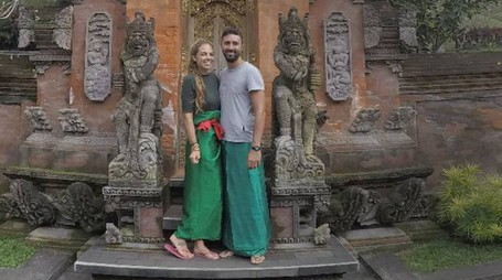 COPPIA Melania Scarpa e Andrea Bova amano i viaggi d'avventura