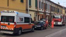 I soccorritori in via Darsena
