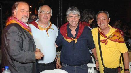 Sganappa con Pelliccia e Paolo Rossi