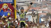 Una vittoria di Zamparella. Qui in una tappa in  Venezuela
