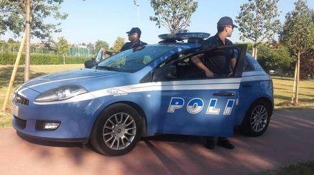 Polizia di Stato al lavoro