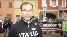 Il c.t. Davide Cassani