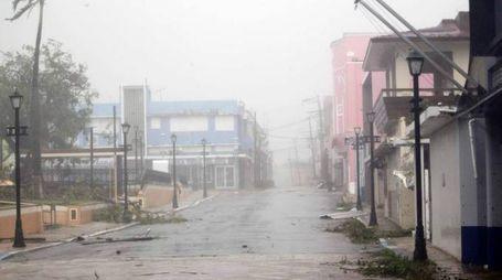 L'uragano Maria a Porto Rico (foto Afp)