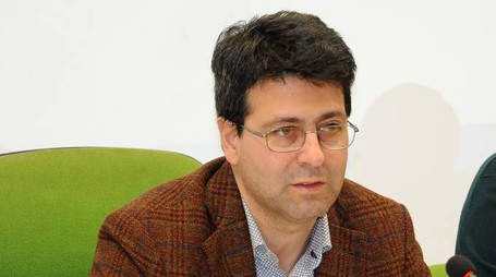 Il sindaco di Vermezzo, Andrea Cipullo