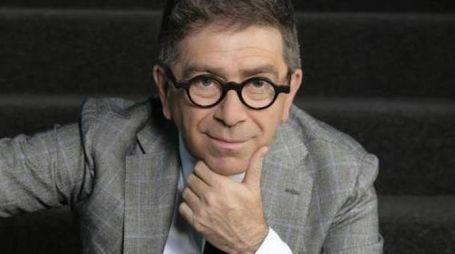 L'attore, autore, conduttore tv Pino Strabioli, da quest'anno alla direzione artistica del Teatro Mancinelli di Orvieto