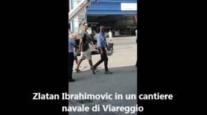 Ibrahimovic a Viareggio