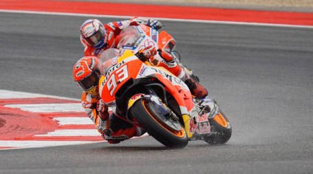 MotoGp Aragon 2017. Marc Marquez guida la classifica del mondiale (Lapresse)