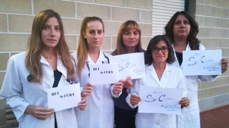La campagna di sensibilizzazione per la sicurezza delle dottoresse di Guardia medica