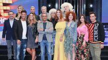 Il cast di Tale e Quale Show 2017 (LaPresse)