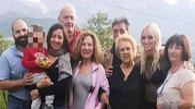 Charisse Mannolini insieme ai parenti