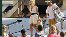 Rami assieme a Pamela Anderson