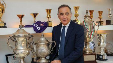 Mario Cognigni, presidente esecutivo della Fiorentina (foto Riccardo Germogli)