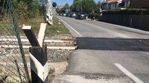 Passaggi a livello in tilt a Civitanova (foto De Marco)