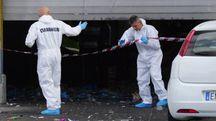 Incidente mortale su lavoro alla Revet (Foto Sarah Esposito/Fotocronache)