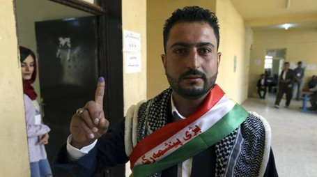 Referendum per l'indipendenza da Baghdad per il Kurdistan (Ansa)