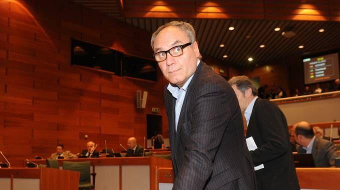 Marco Monari nell'Assemblea regionale dell'Emilia-Romagna (FotoSchicchi)