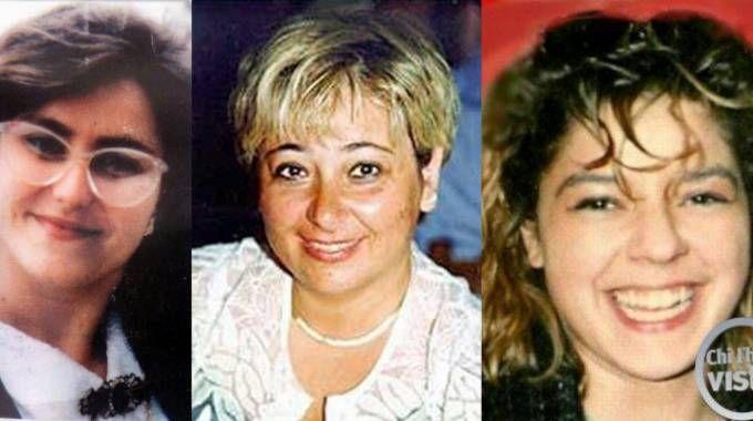 Da sinistra Cristina Golinucci, Manuela Teverini e Milena Pirini Casadei