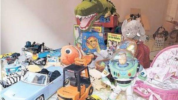Alcuni giocattoli donati