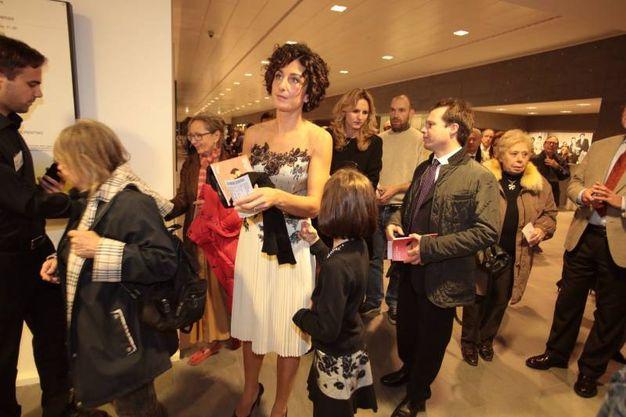 La first lady Agnese Renzi (foto Gianluca Moggi/ New Press Photo)